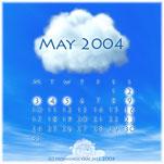 5月のカレンダ